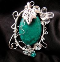 Spring pendant by Hekate01