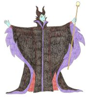 Maleficent as Wrath by DoctorEvil06