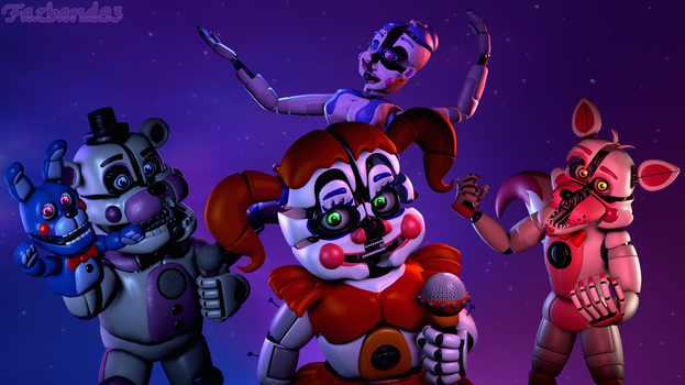 (SFM/FNAF:SL/Remake) The new attraction by Fazband83