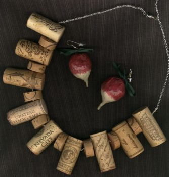 Corks and Radishes by pipecleaner-princess