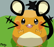 Dedenne by Mozzla94