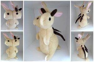 Custom 2-headed Bunny by IckyDog