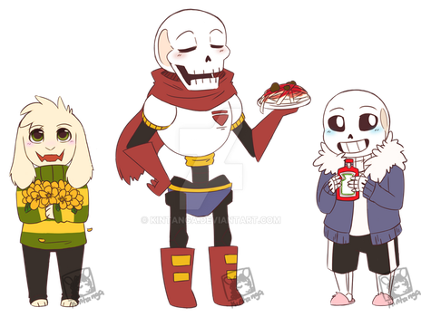 .Metacon2016: Undertale Chibis.+ by Kintanga