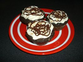 Vegand S'more Cupcakes by Kahlan4