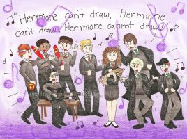 Hermione Can't Draw by writerBYmoonlight