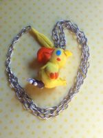 Chocobo Necklace by Heroes-Of-Light