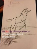 Bambi Drawing by BVS-Isle