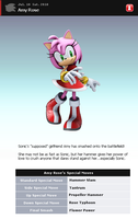Fake SSBB Profile 34: Amy Rose by shadow0knight