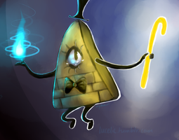 bill cipher by lucelic