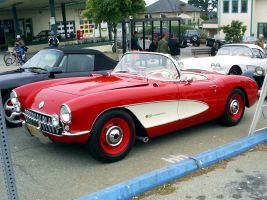 1957 Chevy Corvette real car by Partywave