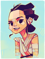 Rey-a-Day 90 by michaelfirman