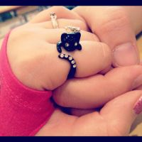 Cute Kitty Ring by PMiow