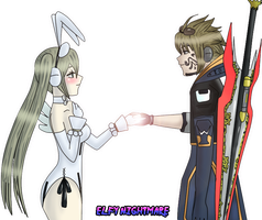 PC: Your magic touch by ElfyNightmare