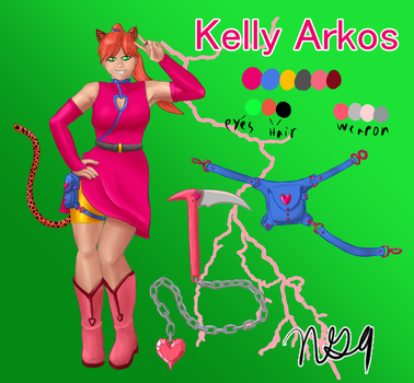 Kelly Character Sheet by NewGhost9