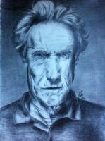 Clint Eastwood by MsFishSpot