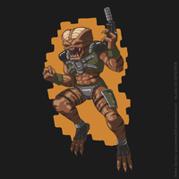 Duke Nukem 3d Steam Card - Assault Trooper by Polymental69