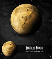 MARS VALLES MARINERIS by R34N1M4T3D