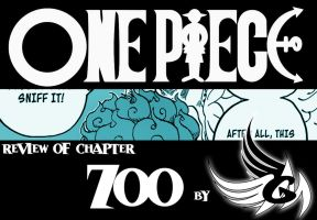 ONE PIECE - Review of chapter 700 by FallenAngelGM