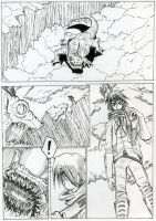 Comic page Try out by Sergeras