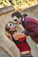 Joker and Harley Quinn - Halloween Shoot by LukeStrife5