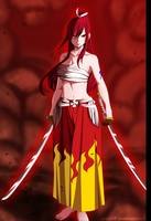 Erza Scarlet -FT- by gaston18
