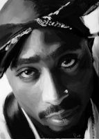 2Pac by PuNkGFX