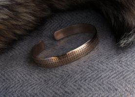 Another bronze bracelet by Zbranek