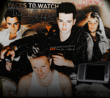 Westlife layout by v-hutingdon
