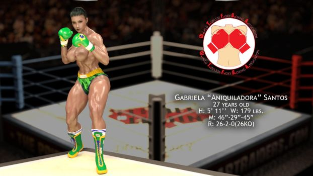 New Boxer: Gabriela Santos by AFCombat