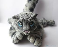 Snow Leopard Art Doll -Commission .. by Sovriin