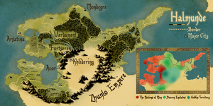 Map of Halmunde by boomerangmouth
