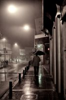 walking in the rain... by panosozi
