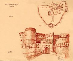 Agra by Redilion