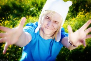 AT - Finn the human - give a hug by MilliganVick