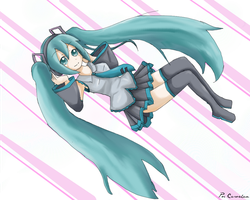 Miku Hastune by CariAguilar