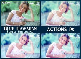 Blue Hawaiian ACTIONS Ps  by Laurent-Dubus