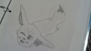 Fennekin (Request) by magicMarshmallow18