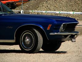 blue 70 stang by AmericanMuscle