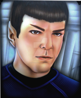 Spock by chrisfurguson