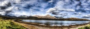 Loch Ainort Panorama by Spyder-art