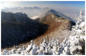 Winter time panorama by joffo1