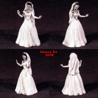 Deaths Bride FIGURINE zombie by Undead-Art