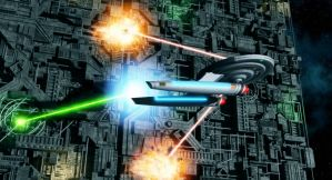 Strafing the Borg by thefirstfleet