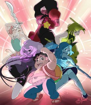 Steven Universe: Believe in Steven by Rice-Lily