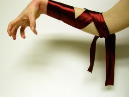 Ribbon Arm Stock11 by D-is-for-Duck