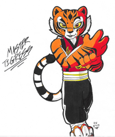 *KFP OC*:  Master Tigress by Armpit-Warrior