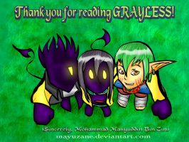 Grayless: Thank you by mayuzane