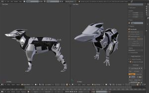 Scout dog wip 5 by betasector