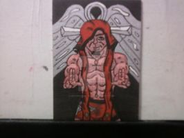 THE FALLEN ANGEL CHRISTOPHER DANIELS by shawncomicart