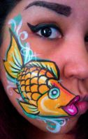 kissy fishy by ARTSIE-FARTSIE-PAINT